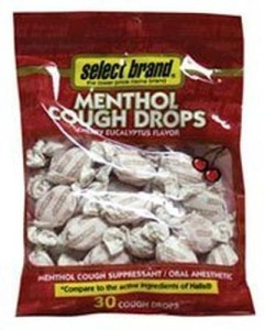 sb cough drop